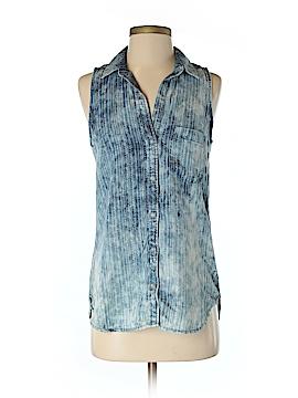 Cloth & Stone Sleeveless Button-Down Shirt Size XS