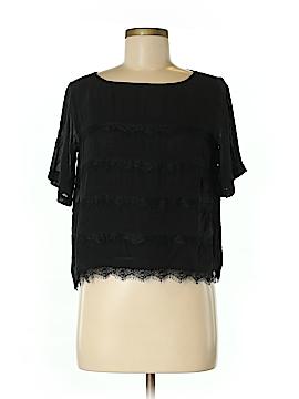 Josie Short Sleeve Silk Top Size XS