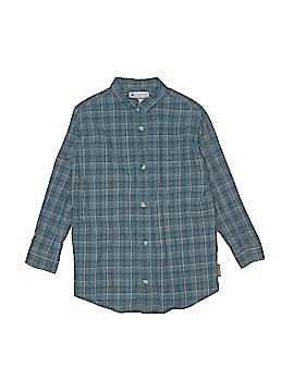 Columbia Long Sleeve Button-Down Shirt Size 7