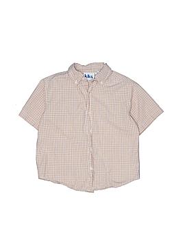 Kiks Short Sleeve Button-Down Shirt Size 4