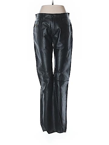 Diesel Leather Pants 29 Waist