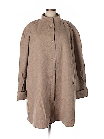 Jessica London Wool Coat Size 26 (Plus)
