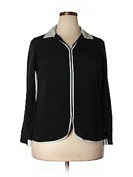 Eloquii Long Sleeve Blouse Size 14 (Plus)