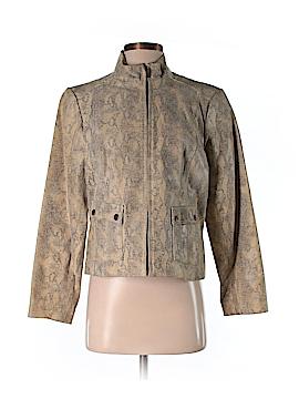 Alfani Leather Jacket Size M (Petite)