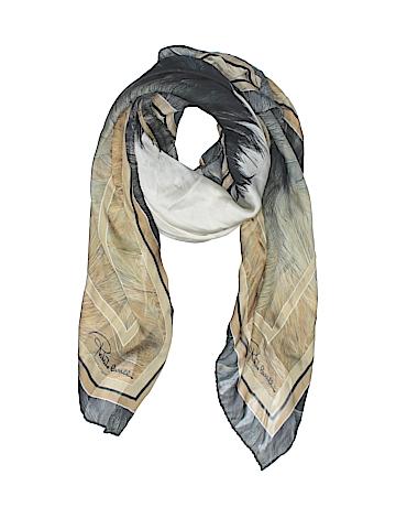 Roberto Cavalli Silk Scarf One Size