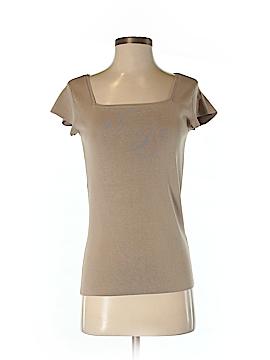Alex Marie Short Sleeve Silk Top Size S