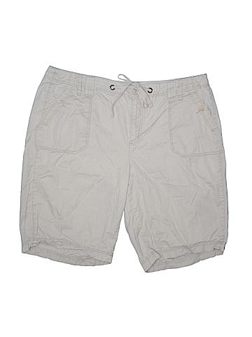 St. John's Bay Khaki Shorts Size 20w (Plus)