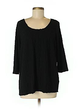 Denim 24/7 3/4 Sleeve Top Size M