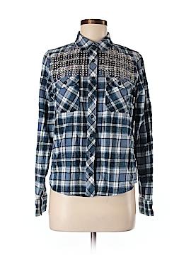 American Retro Long Sleeve Button-Down Shirt Size 40 (EU)