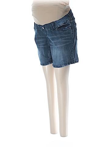 Indigo Rein Denim Shorts Size M (Maternity)