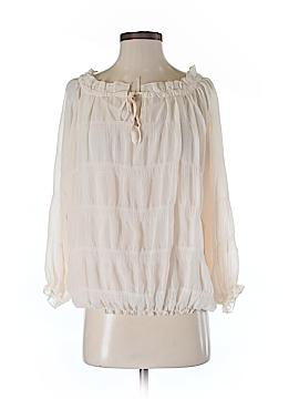 Criss Cross 3/4 Sleeve Blouse Size S