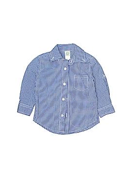 Little Me Long Sleeve Button-Down Shirt Size 12 mo