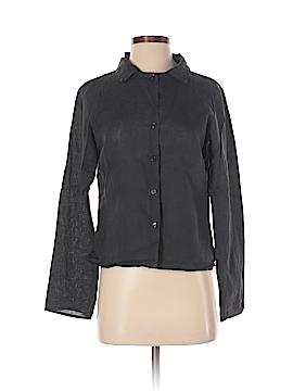 Agnes B. Long Sleeve Button-Down Shirt Size 4 (36)