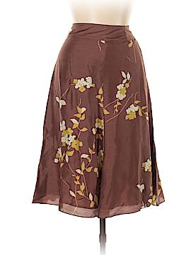 Barneys New York Silk Skirt Size 42 (EU)