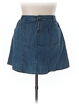 L.A. Blues Denim Skirt Size 18w (Plus)