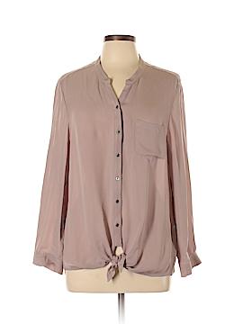 Joie Long Sleeve Button-Down Shirt Size L