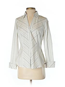 Sandra Ingrish Long Sleeve Button-Down Shirt Size XS