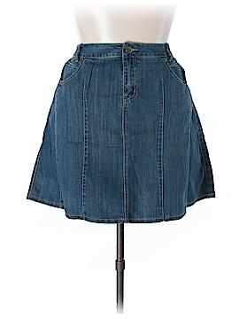 L.A. Blues Denim Skirt Size 16w