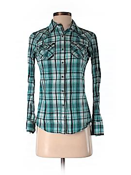 Ariat Long Sleeve Button-Down Shirt Size XS