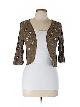 Massimo Dutti Silk Cardigan Size L