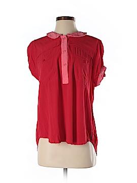 VAVA by Joy Han Short Sleeve Blouse Size S