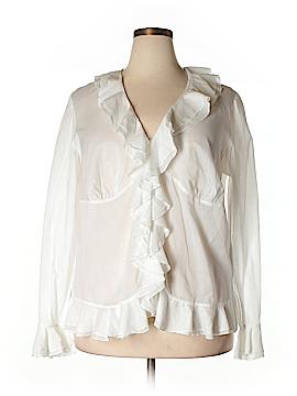 Ralph Lauren Long Sleeve Button-Down Shirt Size 18 (Plus)