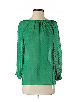 J. Crew 3/4 Sleeve Silk Top Size 0