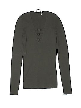 Sandro Long Sleeve Top Size Sm (1)