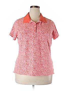 Basic Editions Short Sleeve Polo Size 1X (Plus)