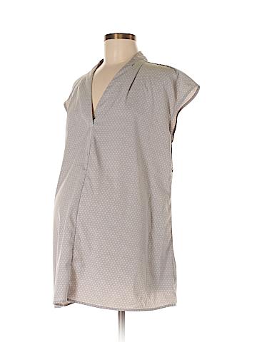 Liz Lange Maternity Short Sleeve Blouse Size M (Maternity)