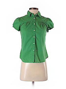 Gap Short Sleeve Button-Down Shirt Size XS (Petite)