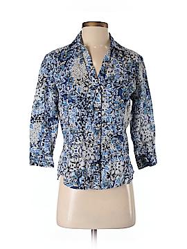 Karen Scott Long Sleeve Button-Down Shirt Size XS