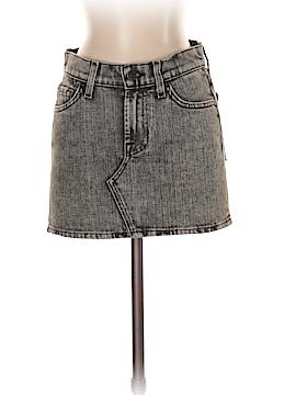 7 For All Mankind Denim Skirt 25 Waist