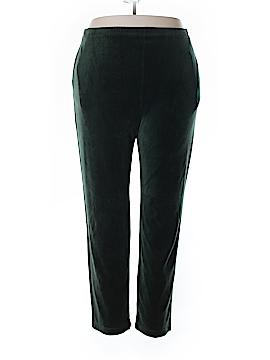 Liz & Co Velour Pants Size XL