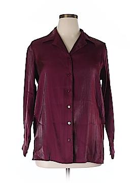 Kathie Lee Long Sleeve Blouse Size 14 - 16 Plus (Plus)