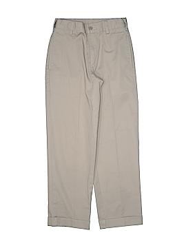 Justice Khakis Size 10