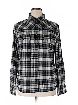 Jach's Girlfriend Long Sleeve Blouse Size XL