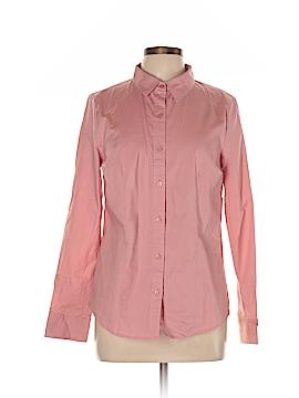 Appleseeds Long Sleeve Button-Down Shirt Size 10