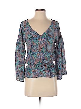 Tolani 3/4 Sleeve Silk Top Size XS