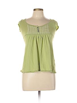 Abercrombie Short Sleeve Henley Size L
