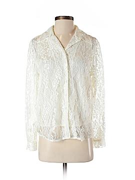 Christie & Jill Long Sleeve Blouse Size S