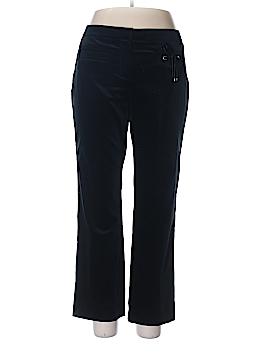 Per Se By Carlisle Velour Pants Size 12