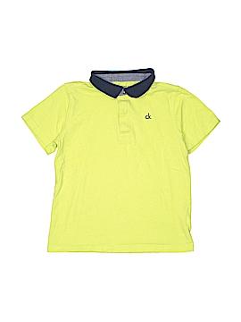 CALVIN KLEIN JEANS Short Sleeve Polo Size 7