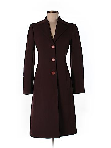 Alberta Ferretti Collection Wool Coat Size 6