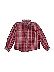 Hawke & Co. Boys Long Sleeve Button-Down Shirt Size Large kids 7