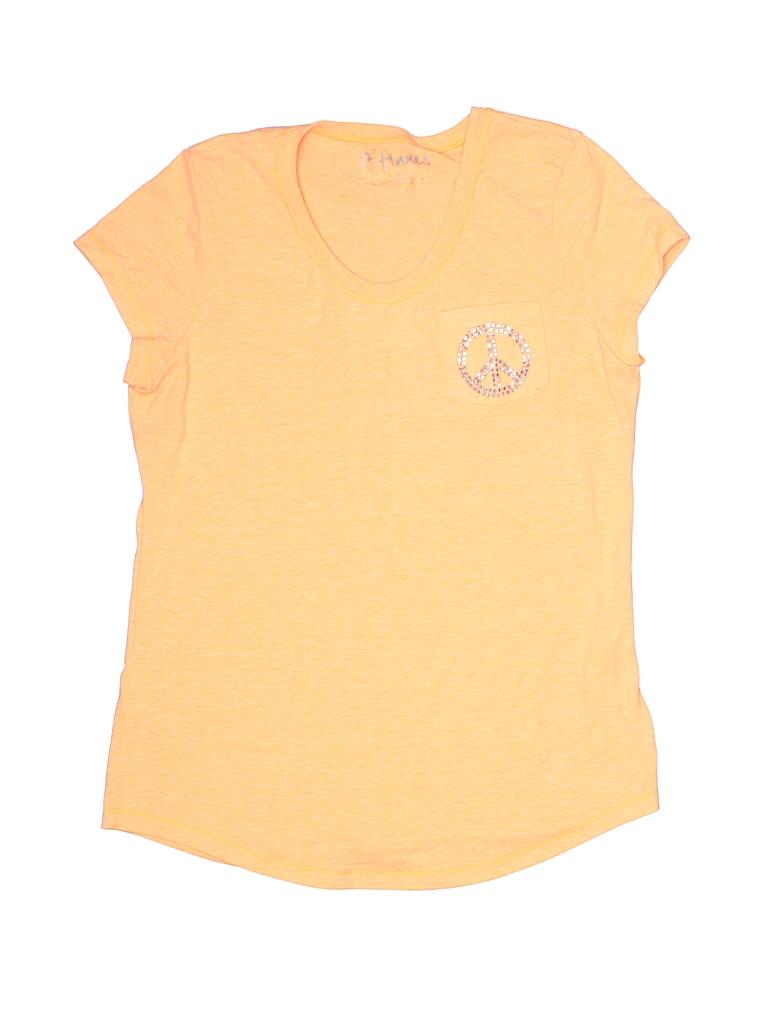 Hanes Girls Short Sleeve T-Shirt Size 10 - 12