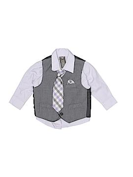 Dockers Long Sleeve Button-Down Shirt Size 18 mo
