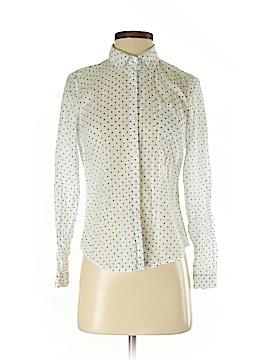 Ann Taylor LOFT Outlet Long Sleeve Button-Down Shirt Size XS (Petite)