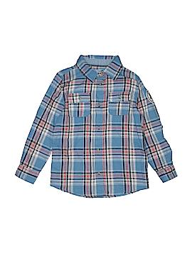 Joe Fresh Long Sleeve Button-Down Shirt Size 8