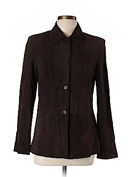 Ann Taylor Leather Jacket Size 10